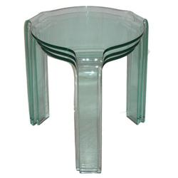 Fiam PACE COLLECTION Glass Tables #2382197