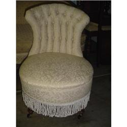 Victorian Boudoir Chair  #2382214