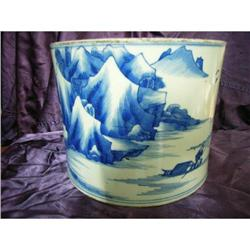 chinese porcelain brushpot #2382227
