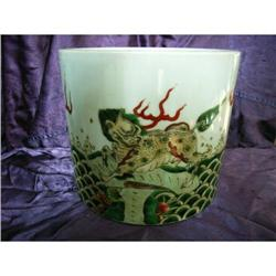 chinese porcelain brushpot #2382228