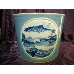 chinese porcelain brushpot #2382229