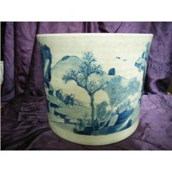 chinese porcelain brushpot #2382231