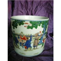 chinese porcelain brushpot #2382232