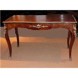 Antique French Desk Bureau Plat #2382294