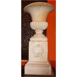 Pair of 18th Century Terracotta Garden Urns #2382304