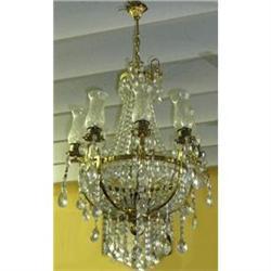 Crystal Chandelier Ceiling Fixture #2382305