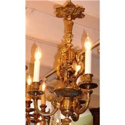 Bronze Chandelier Ceiling Fixture Light #2382319