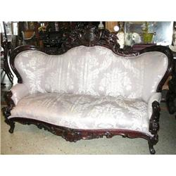 Antique Victorian Sofa Couch  #2382329