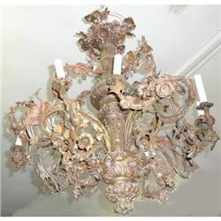 Antique Bronze Chandelier Fixture #2382330