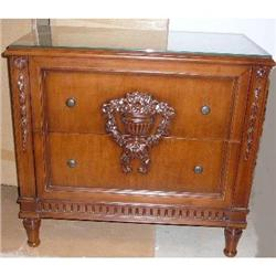Pair of French Style Nightstands #2382363