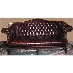 Leather Chesterfield Sofa Couch #2382386