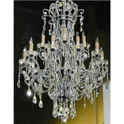 Crystal Beaded Chandelier #2382392
