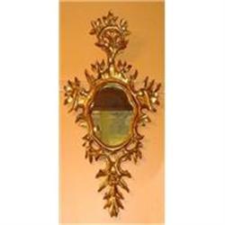 Pair of Giltwood Wall Mirrors #2382399