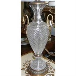 Cut Glass Lamp #2382401
