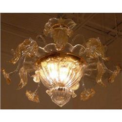 Venetian Glass Chandelier #2382407