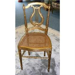 Gilt French Ladies Chair #2382411