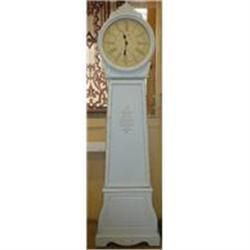 Paint Decorated  French Style Grandfather Clock#2382412