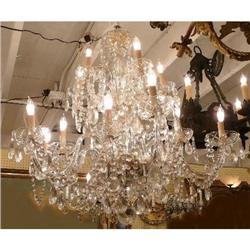Crystal Beaded Chandelier Ceiling Fixture #2382418