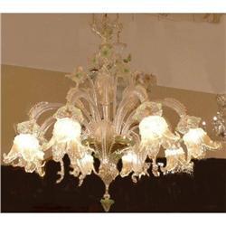 Venetian Style Murano Glass Chandelier #2382419