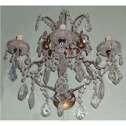Pair of Crystal Sconces Wall Lights #2382423