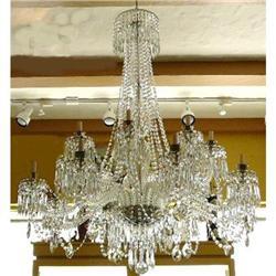 Crystal Beaded Chandelier Ceiling Fixture #2382426