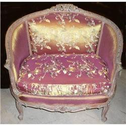 Carved Wood Sofa Loveseat Settee #2382433