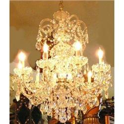 Crystal Chandelier Ceiling Fixture #2382436
