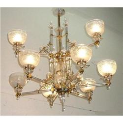 Crystal Chandelier Ceiling Fixture #2382438