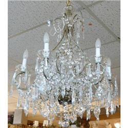 Italian Beaded Crystal Chandelier #2382440