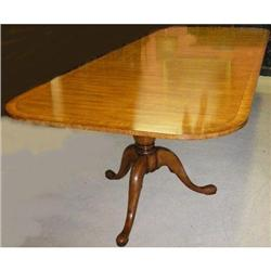 Double Pedestal Dining Table #2382443