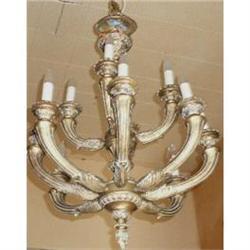 Gilded  Chandelier Ceiling Fixture #2382459