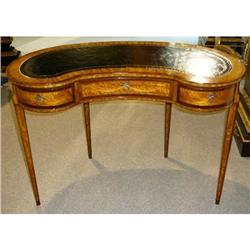 Leather Top Desk Writing Table #2382473