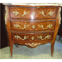 Marquetry Inlaid  MT Commode Chest  #2382475