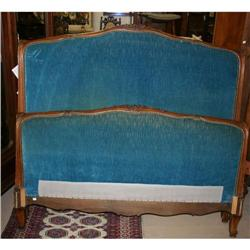 Louis XV style upholstered bed #2382478