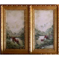 PR ORIG MOUNTAIN LANDSCAPE PAINTINGS #2382484