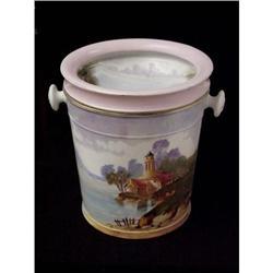 Limoges Porcelain Jardiniere / Bucket  #2382486