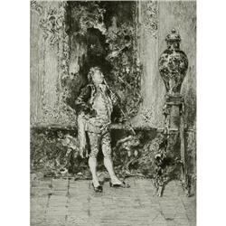 Engraving The China Vase, M. Fortuny Pinx #2382487