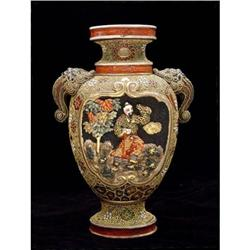 Satsuma Vase in High Relief #2382492