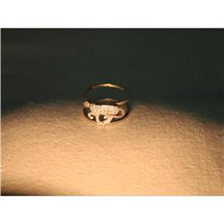 18K WG Hidalgo Panther Cat Jacket Diamond Ring #2382496
