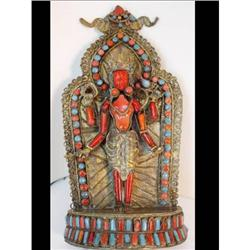 Antique coral turquoise Snake Goddess alter #2382507