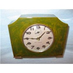 Seth Thomas Lucite windup vintage clock!  #2382510