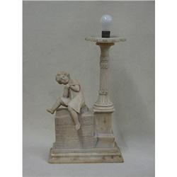 Alabaster Lamp Sku2582 #2382512