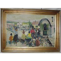 Caravan Oil Painting  #2382515