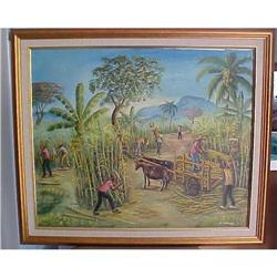 Haitian Painting by Jean Claude Damas 20x30 #2382522