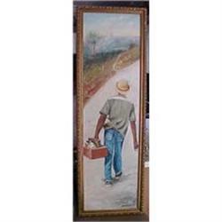 Haitian Painting by Jonas Exume #2382523