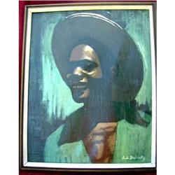 Haitian Painting by Claude Dambreville. #2382524
