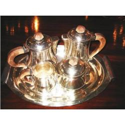 Art Deco French Tea & Coffee set w/tray #2382529