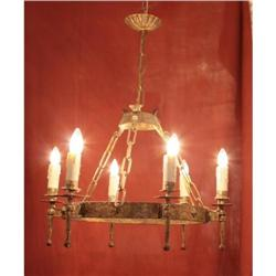 Spanish Iron Chandelier #2394344