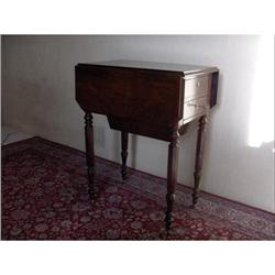 Solid Rosewood Sewing table c1830 #2394551