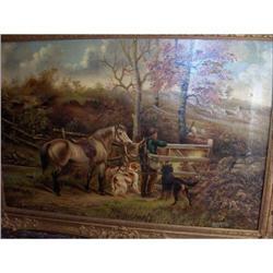 Oil on Cavas By Robert Cleminson c1890 #2394553